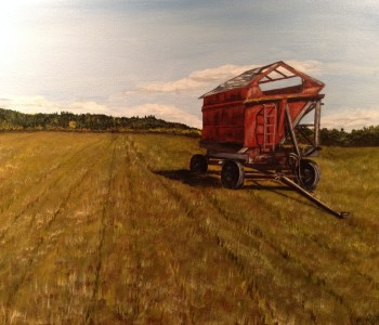 Silage Cart, Central Saanich